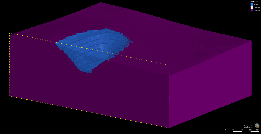 Creating an Excavation Model in Leapfrog Works